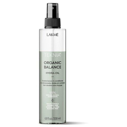 Lakme Teknia Organic Balance HYDRA-OIL Двухфазный несмываемый кондиционер для всех типов волос, 200 мл organic oil маска для всех