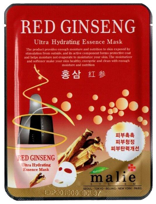 Malie увлажняющая тканевая маска Red Ginseng Ultra Hydrating Essence Mask