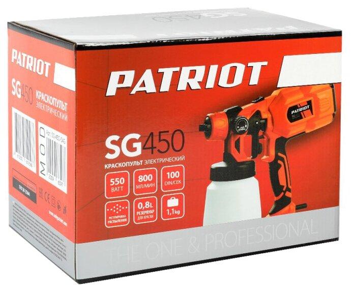 Сетевой краскопульт PATRIOT SG 450