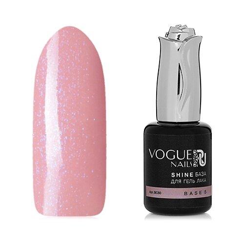 Vogue Nails базовое покрытие Shine база для гель-лака 18 мл base 5 vogue nails базовое покрытие shine база для гель лака 30 мл base 5