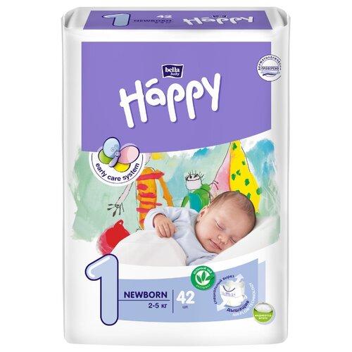 Bella Baby happy подгузники start 1 (2-5 кг) 42 шт.Подгузники<br>