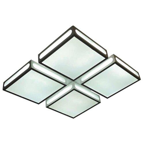 Светильник светодиодный Ambrella light FS1888 WH/SD 144W 4200K D520*520, LED, 144 Вт лампочка ambrella light точка 8w gu5 3 4200k холодный свет 8 вт светодиодная