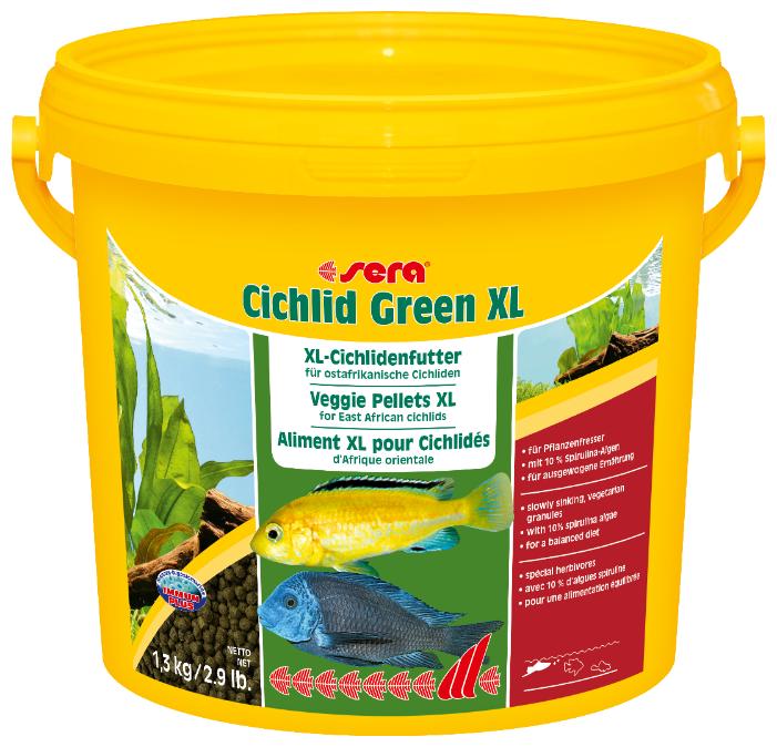 Сухой корм Sera Cichlid Green XL