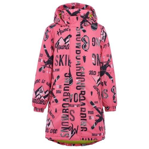 Купить Парка Button Blue Active 219BBGA4501 размер 128, розовый, Куртки и пуховики