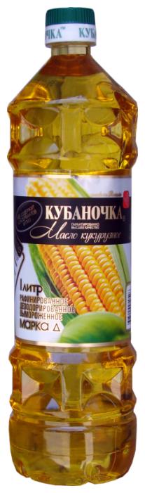 Кубаночка Масло кукурузное рафинированное дезодорированное