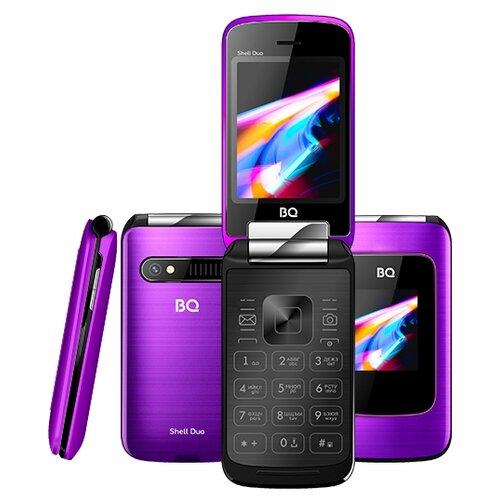 Телефон BQ 2814 Shell Duo фиолетовый телефон