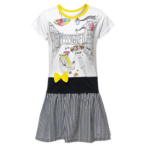 Купить Платье M&D размер 92, желтый, Платья и юбки
