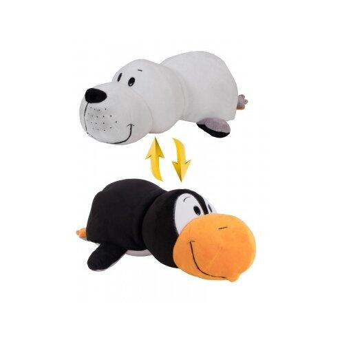 Купить Мягкая игрушка 1 TOY Вывернушка Пингвин-Морской котик 10 см, Мягкие игрушки