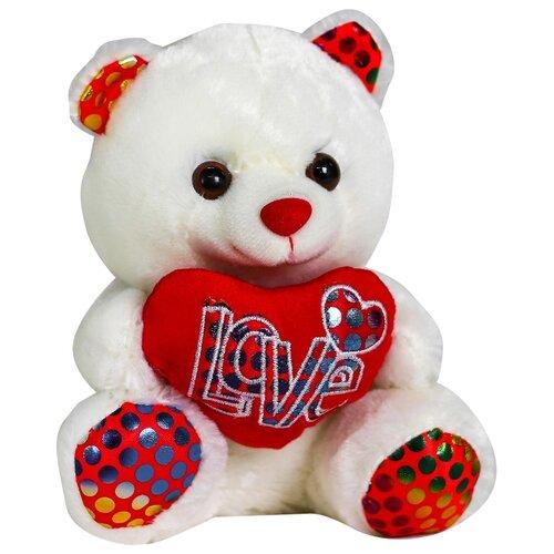 Мягкая игрушка Медведь с сердцем 4471230