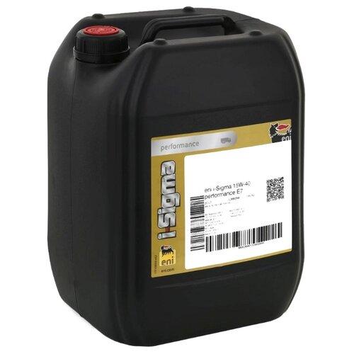 Моторное масло Eni/Agip i-Sigma performance E7 15W-40 20 л индустриальное масло eni agip dicrea 46 20 л