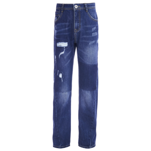 Джинсы Gulliver размер 146, синий джинсы gulliver размер 134 синий