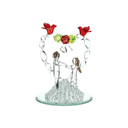 Фото - Статуэтка ENS Романтика, 11 см прозрачный статуэтка ens романтика 8 5 см прозрачный