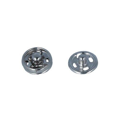 Фото - Gamma Кнопки пришивные (KL-070), под никель, 7 мм, 10 шт. gamma клипсы для подтяжек 2 см sus 20 никель 4 шт