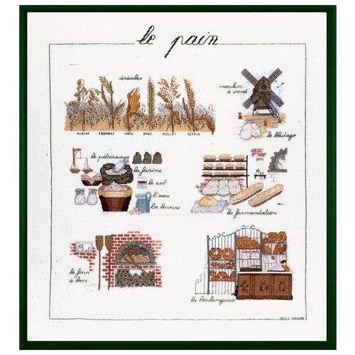 Набор для вышивания: LE PAIN (Хлеб) Le Bonheur des Dames, 40*46 1185, Наборы для вышивания  - купить со скидкой