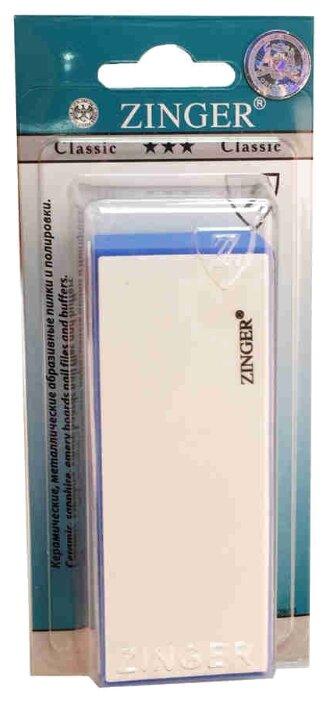ZINGER Пилка-брусок для ногтей BA-09.10 180/240/1200/3000 грит