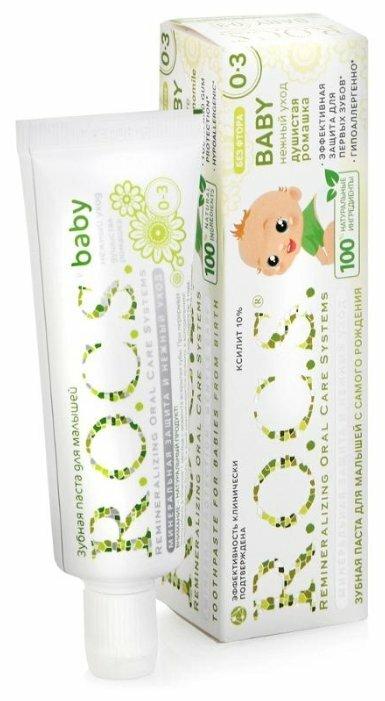 Зубная паста R.O.C.S. Baby Душистая ромашка 0-3 лет