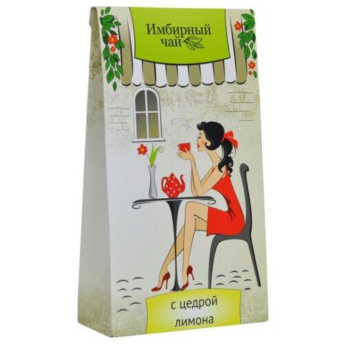 Чай травяной Green Side Имбирный c цедрой лимона в пакетиках , 30 г , 20 шт. чай травяной polezzno ромашка и липа в пакетиках 30 г 20 шт