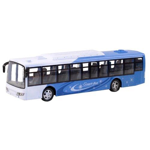 Купить Автобус SY Toys 1100079 1:24 38 см синий, Радиоуправляемые игрушки
