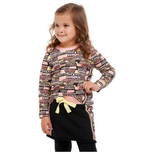 Фото - Лонгслив lucky child Ми-ми-мишки размер 22 (68-74), многоцветный футболка для мальчика lucky child ми ми мишки цветная 68 74