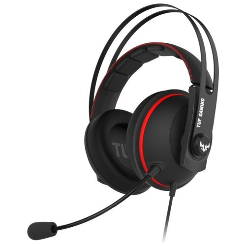 Купить Компьютерная гарнитура ASUS TUF Gaming H7 Core черный/красный
