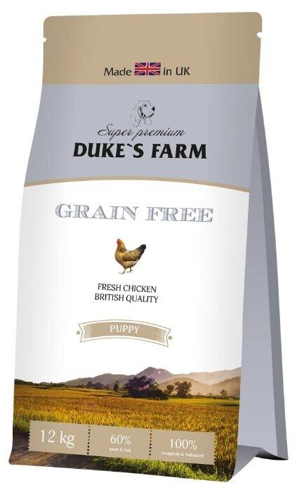 Корм для щенков DUKE'S FARM курица