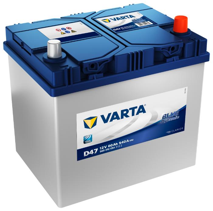 Аккумулятор автомобильный EXIDE Start-Stop AGM 12V 60Ah обратная полярность (EK600)