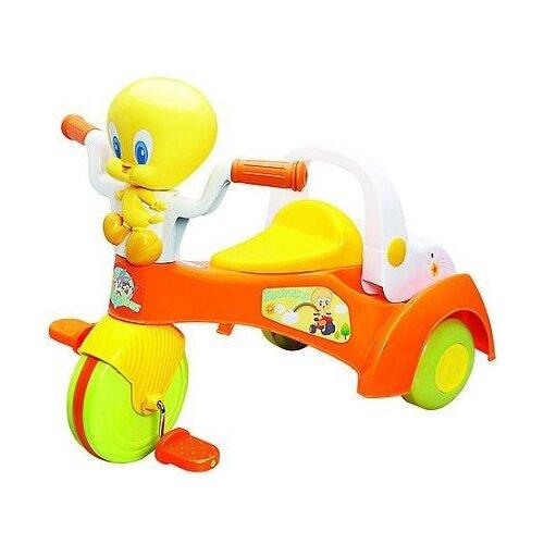 Трехколесный велосипед Happy Well Looney Tunes 06580 желтый/оранжевый кресло складное happy camper цвет желтый оранжевый