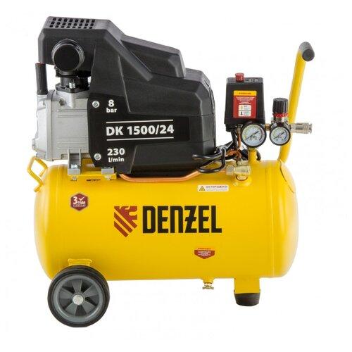 Компрессор масляный Denzel DK 1500/24 Х-PRO, 24 л, 1.5 кВт