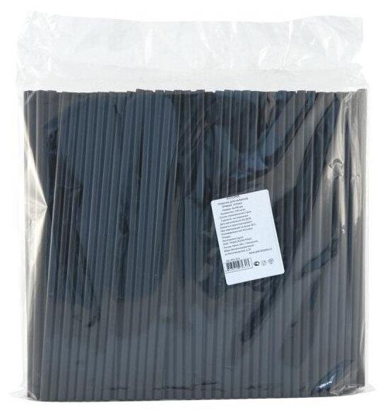 Aviora Трубочки прямые одноразовые пластиковые 24 см (250 шт.)