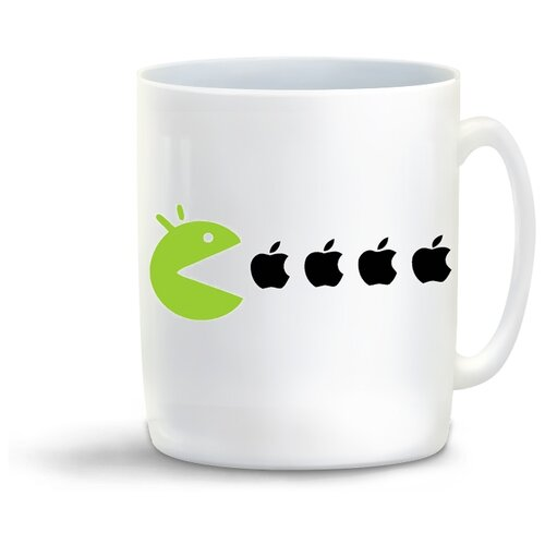 Кружка с приколом яблоки (apple)