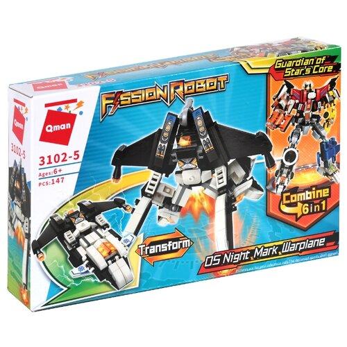 Конструктор Qman Fission Robot 3102-5 Робот-трансформер Боевой самолёт