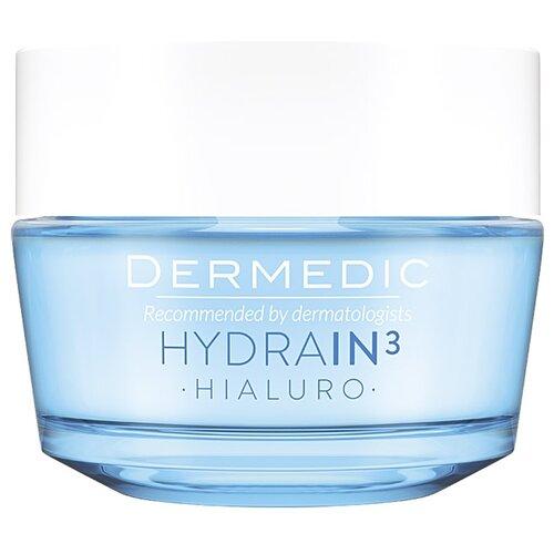 Dermedic Hydrain3 Hialuro Крем-гель сильно увлажняющий для лица, 50 мл