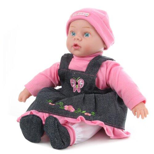 Купить Интерактивный пупс Lisa Doll Розовый деним, 40 см, 83363, Куклы и пупсы