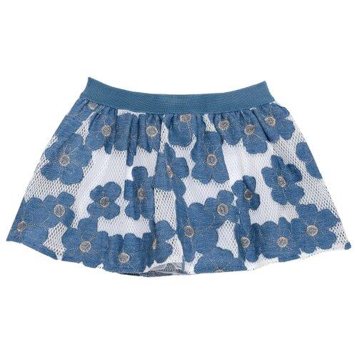Юбка Chicco размер 122, голубой юбка chicco chicco ch001egemkn4