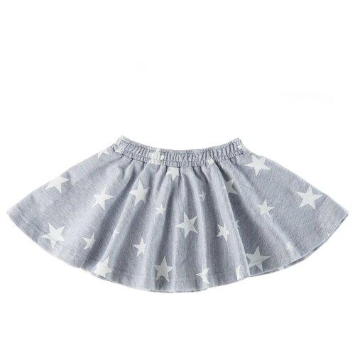 Юбка Roxy Foxy размер 122, серый меланж