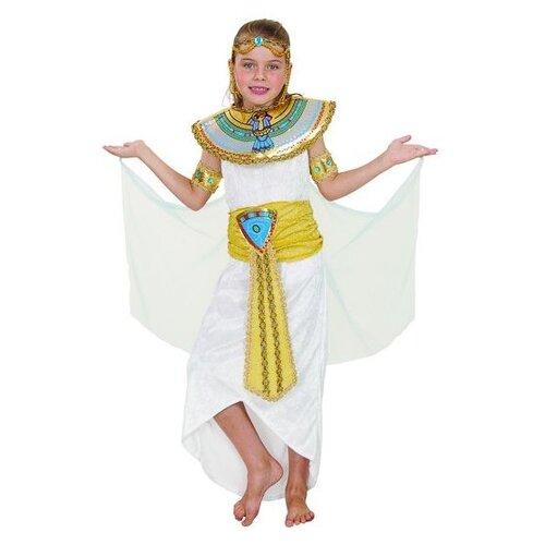 Купить Костюм SNOWMEN Египетская принцесса Е93162, белый, размер 3-4 года, Карнавальные костюмы