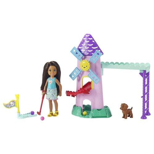Купить Кукла Barbie Челси и набор мебели, 12 см, FRL85, Куклы и пупсы