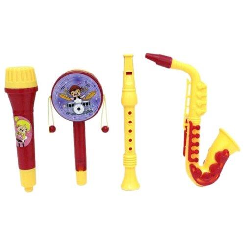 Купить Shantou Gepai набор инструментов 100906441 желтый/красный, Детские музыкальные инструменты