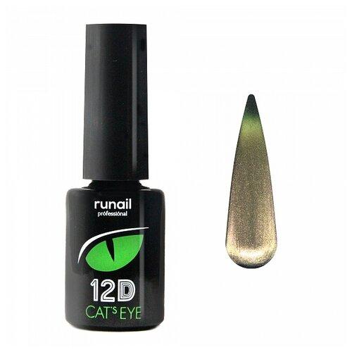 Купить Гель-лак для ногтей Runail Professional Cat's eye 12D, 6 мл, 4905