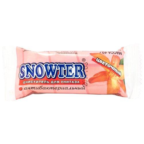 Snowter запасной блок для унитаза Цветочный 0.04 кг 1 шт. очиститель для унитаза snowter запасной блок хвоя 40 г