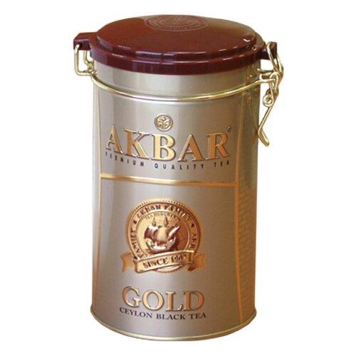 Чай черный Akbar Gold подарочный набор, 225 гЧай<br>
