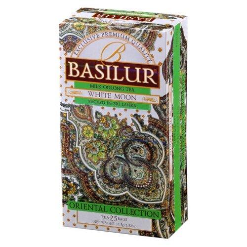 Чай улун Basilur Oriental collection White moon в пакетиках , 25 шт. чай улун basilur oriental collection white moon в пакетиках 25 шт