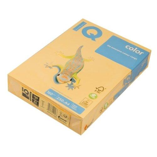 Фото - Бумага IQ Color А4 160 г/м² 250 лист. золотистый GO22 1 шт. бумага iq color а4 160 г м² 250 лист розовый pi25 5 шт