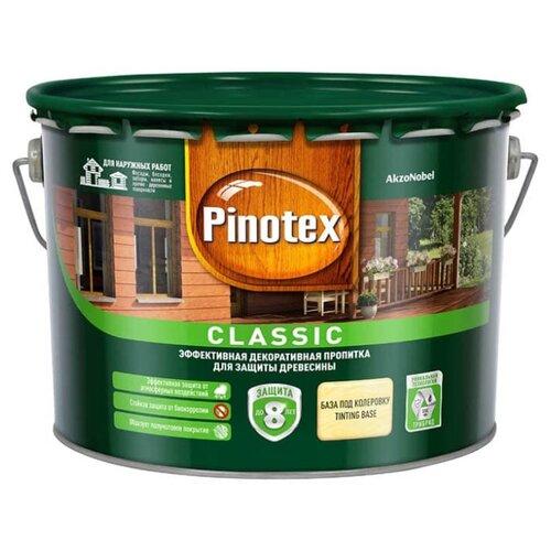 Фото - Водозащитная пропитка Pinotex Classic бесцветный 9 л водозащитная пропитка pinotex classic светлый дуб 1 л