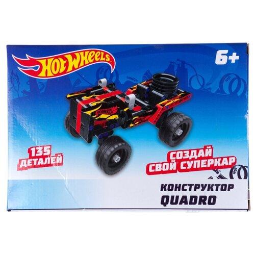 Купить Винтовой конструктор 1 TOY Hot Wheels Т15399 Quadro, Конструкторы