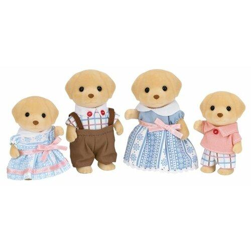 Купить Игровой набор Sylvanian Families Семья лабрадоров 5182, Игровые наборы и фигурки