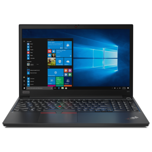 Ноутбук Lenovo ThinkPad E15 (Intel Core i5 10210U 1600MHz/15.6/1920x1080/8GB/1000GB HDD/DVD нет/Intel UHD Graphics/Wi-Fi/Bluetooth/Windows 10 Pro) 20RD001XRT black ноутбук