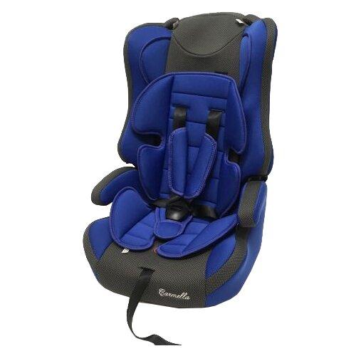 Автокресло группа 1/2/3 (9-36 кг) Carmella 513 RF, deep blue/black dot группа 1 2 3 от 9 до 36 кг carmella 513 rf и protectionbaby защитная накидка на спинку переднего сиденья автомобиля