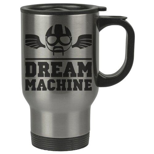 Автомобильная термокружка Dream machine , Машина мечты