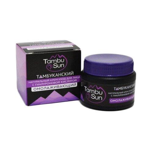 Tambusun Тамбуканский натуральный крем-уход для лица Омолаживающий с гиалуроновой кислотой, 50 мл